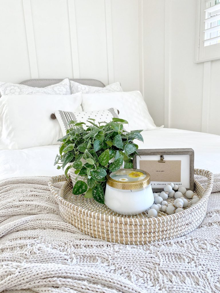 seven beautiful accent wall ideas board and batten and a tray and a candle
