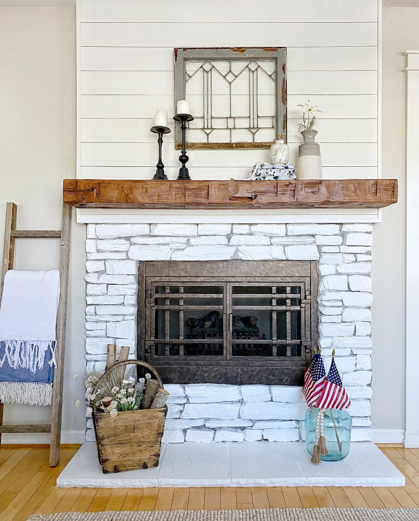 How to update your fireplace surround and mantel