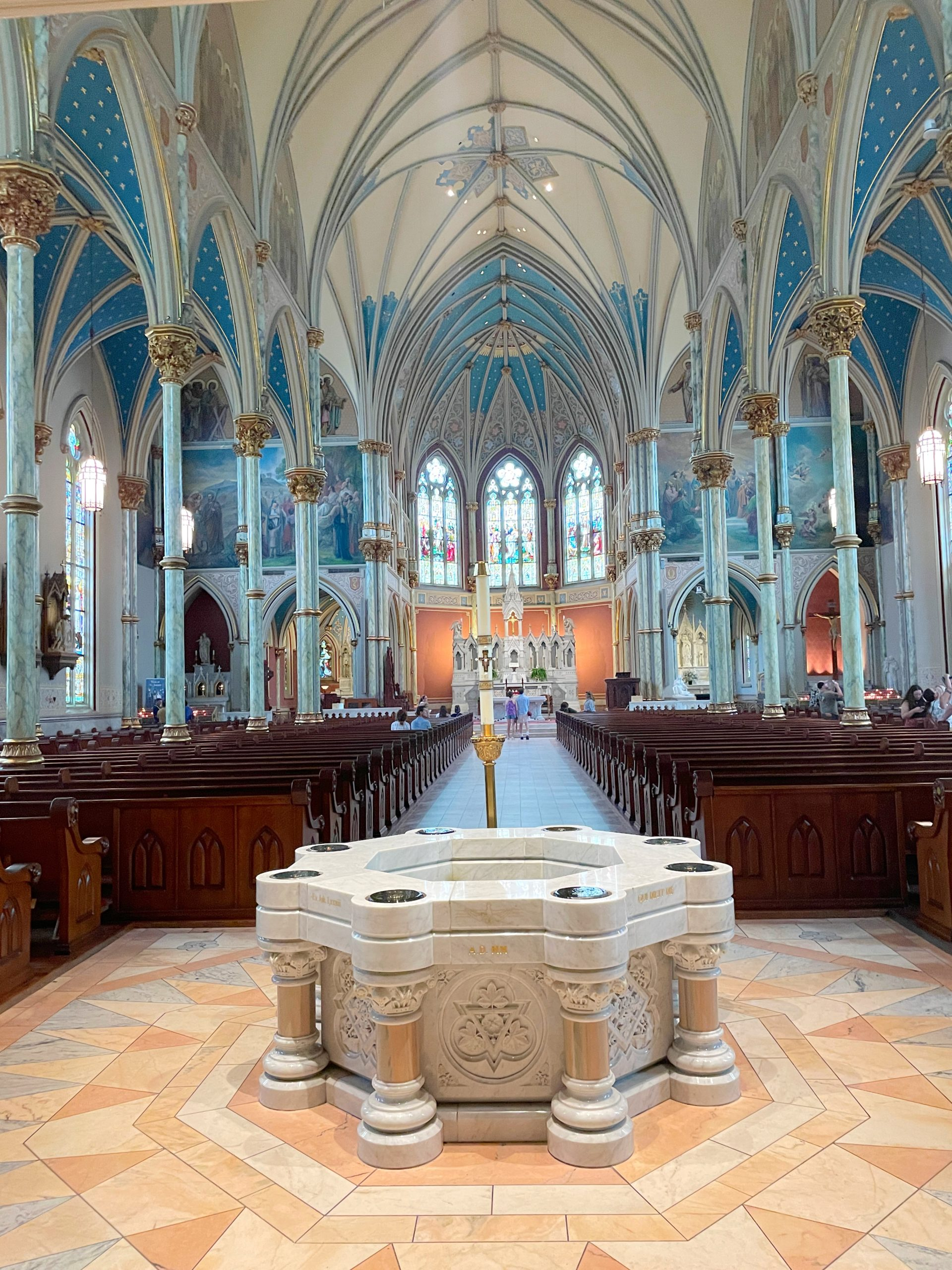 st john the baptist cathedral savannah georgia what to see