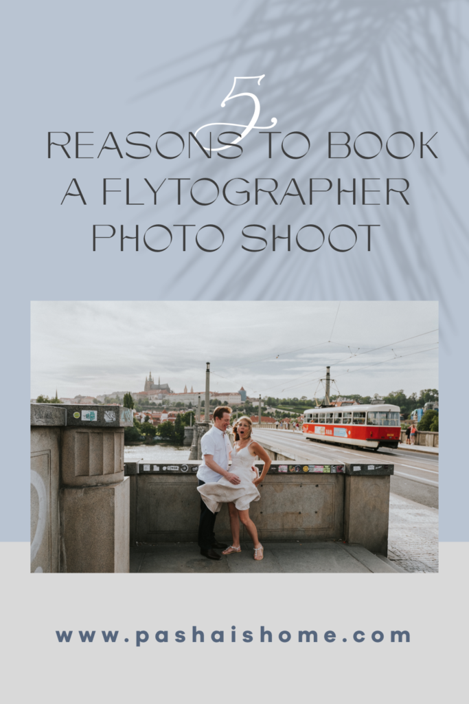 five reasons to book a flytographer photo shoot on vacation travel photography prague dress flying up prague itinerary travel guide