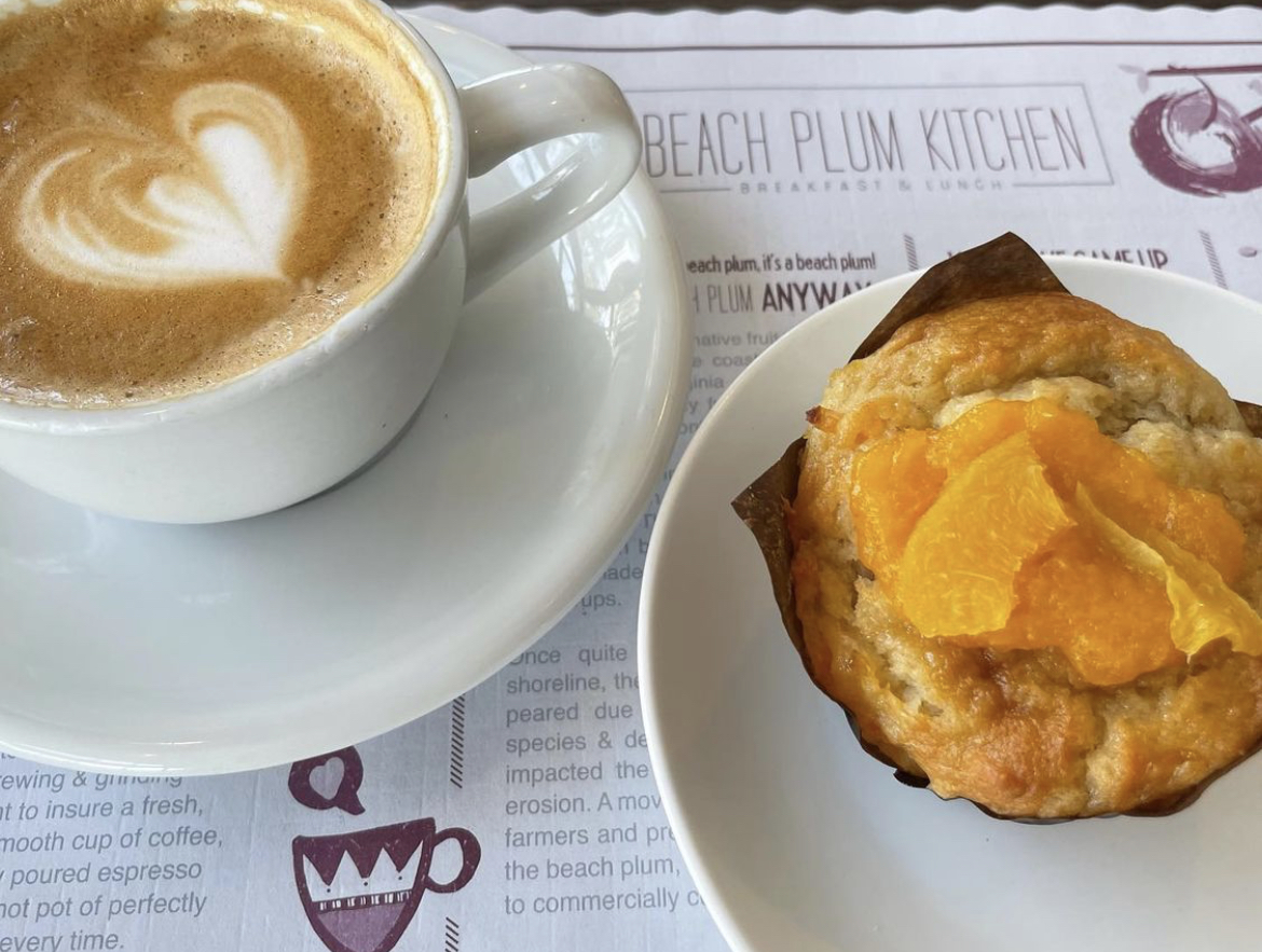 beach plum best breakfast restaurants in san diego county north county carlsbad coffee and a muffin on the menu