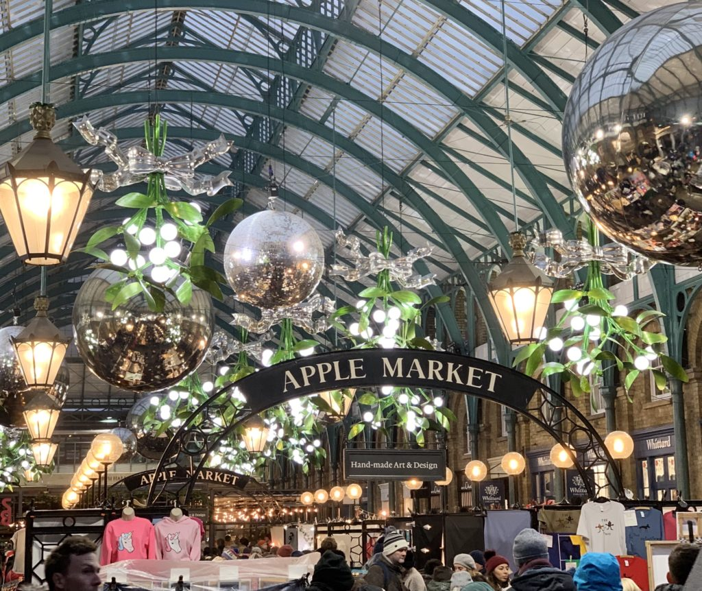 covent garden london at christmas time what to do