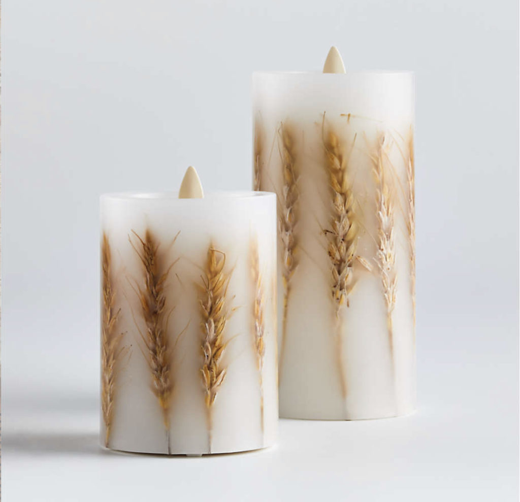 crate and barrel fall candles say hello to fall with these new decor finds fall in love with fall decor in your home for fall decorating