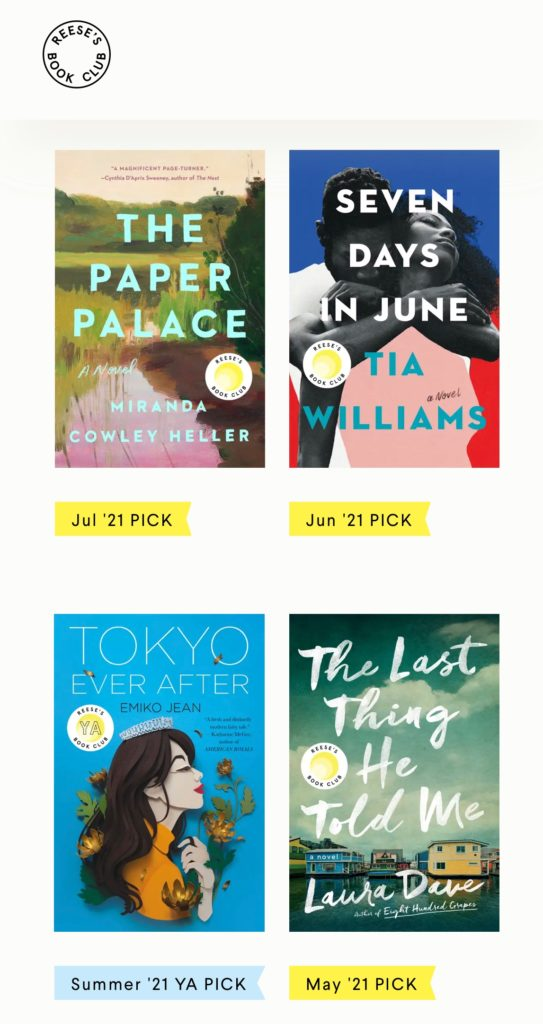 how to start a book club reese witherspoon book club the paper palace seven days in june tokyo ever after the last thing he told me books